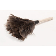 "Duster - professional ostrich feather - 4"" handle - UNS 12GY*"