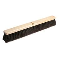 """Floor Sweep - maroon polypropylene - 24"""" - 20324*"""