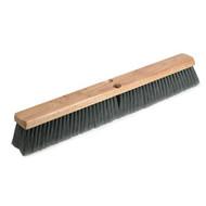 "Floor Sweep - 24"" Gray Flagged - 3"" trim - fine sweeper #51524"