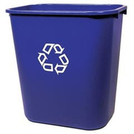 Wastebasket - Rubbermaid Deskside - recycle - RM2956-06*