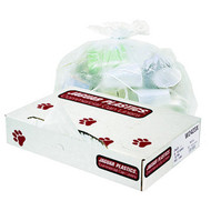 Can Liners - low density - white - 60 gallon - JAG3858X*