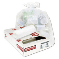 Can Liners - high density - clear - 60 gallon - JAGRH3860S*