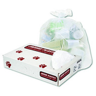 Can Liners - high density - clear - 60 gallon - JAGH3860S*
