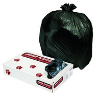 Can Liners - low density - black - 60 gallon - JAGL3858H*