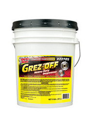 GREZ-OFF - DEGREASER, 5 GALLON PAIL