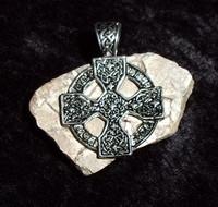Celtic Cross Pendant with COIR DJINN