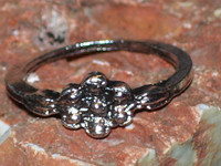 Knuckle Ring with DARK GRIGORI WATCHER