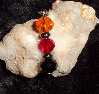 Bead Pendant with JOROGUMO