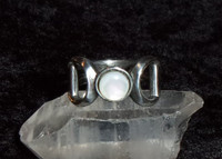 Mother of Pearl Ring With EMOTIONAL WELL BEING PACKAGE