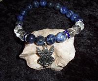 Stretch Bracelet with CELTIC ANGEL