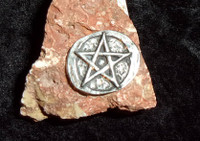 Pentagram Stone with WISHING SPELL