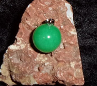 Orb Pendant with YOUTHFUL DREAMS FAIRY