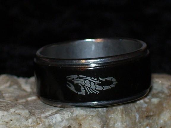 Ring with DARK GRIGORI WATCHER - Mystic Morning Treasures