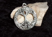 Pewter Pendant with NORSE DJINN