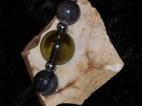 Bead Pendant with WERE-DRAGON