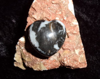 Heart Stone with BLACK DRAGON