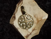 Pendant with CELTIC VAMPIRE
