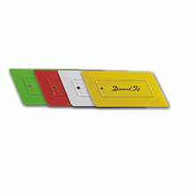 DIAMOND TIP HARD CARD-YELLOW
