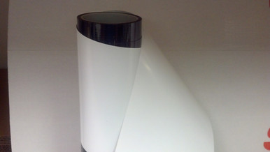 White Matte is an Opaque Film