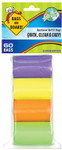 Bags on Board Rainbow Bag Refill Pack (60)