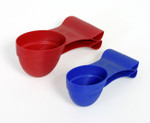Large Hungry Pet Scoop 'N Clip