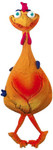 Crazy Chicken Latex Toy 15""