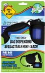 Bags on Board Mini Retractable Leash - Black (45 bags)