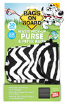 Bags on Board Purse Dispenser Zebra (30 bags) **closeout **