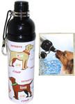 Pet Water Bottle (24 oz)  PUPPY LOVE, Case of 24