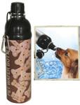 Pet Water Bottle (24 oz) BONE, Case of 24