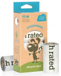 Earth Rated COMPOSTABLE BAGS (Box of 4 Rolls)