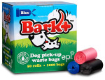 50 Roll Bio Poop Bags (case of 12 / 50 roll boxes) BLACK