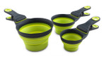 KlipScoop Portion Control  - Medium Neon Green