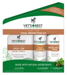 Flea + Tick 3-piece Total Protection Kit