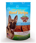 Beef Strips 3 oz Bag - All Natural