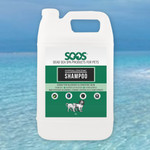 Natural Dead Sea Hypoallergenic Pet Shampoo 10:1 (4 Liter)
