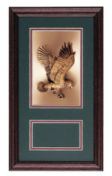 Military Award Frame Eagle Copper