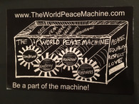 The World Peace Machine Postcard