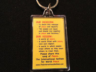 KeyChain with our Mission and Vision