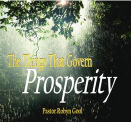 The Things That Govern Prosperity
