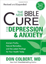 The New Bible Cure for Depression & Anxiety