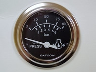 Datcon 101577 Oil Pressure Gauge 100 PSI