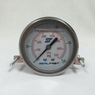 Seal Fast G251002PSU Pressure Gauge 100 PSI