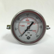 Seal Fast G256002PSU Pressure Gauge 600 PSI