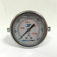 Seal Fast G2530002PSU Pressure Gauge 3000 PSI