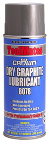 Aervoe Dry Graphite Lubricant, Model# 8078
