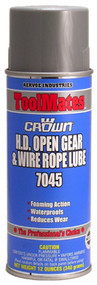 Aervoe H.D. Open Gear & Wire Rope Lube, Model# 7045