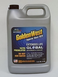GoldenWest Extended Life Global 50/50 Anti-Freeze Prediluted Gallon
