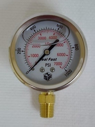 Seal Fast G2510001PS Pressure Gauge