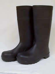 Rubber Boots with Hard Toe, 14502-9HT, Size 9